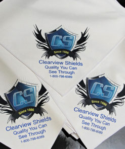 Motorcycle Windshield Cleaning Cloths
