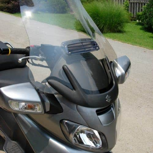 Suzuki Burgman 650 Standard Windshield | Through Model Year 2012