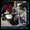 Harley Davidson | Sidecar RLE with 7 Hole Mount | Replacement Windshield
