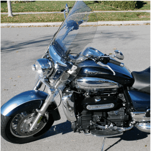 Triumph Rocket III Touring Windshield