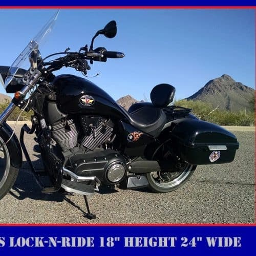 Vegas Windshield - Lock-N-Ride