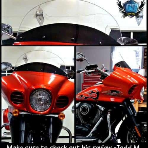 Kawasaki Voyager 1700 Vaquero Shield