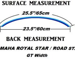 Road Star 1999 - 2012 | Royal Star 1996 - 1998 Windshields