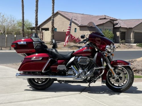 Electra Glide/Limited Windshield | 2014-Present | Harley-Davidson® Windshields photo review