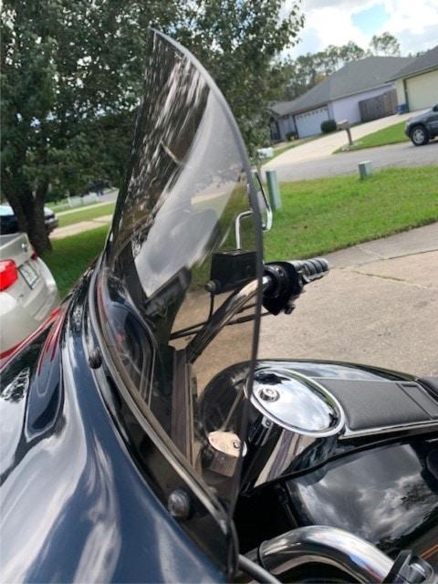 Harley Davidson Electra Glide windshield 1988