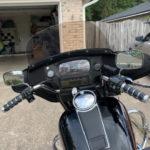 Harley Davidson FLHT windshield