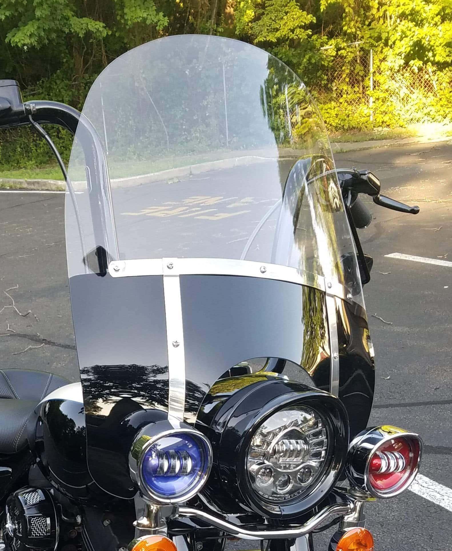 Harley Davidson Road King Windshield 21 GT Black masking (1)
