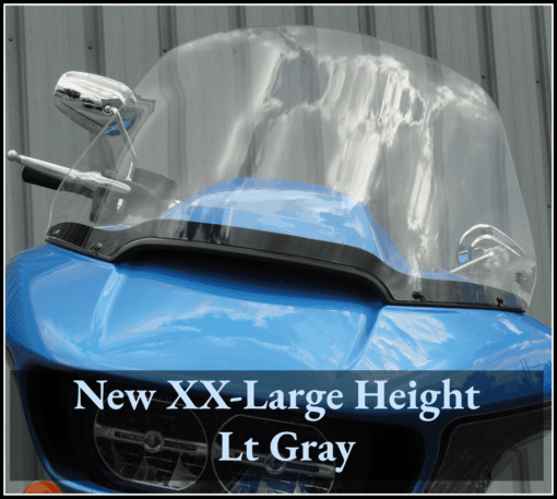 Harley Road Glide Windshield XX-Large (2)
