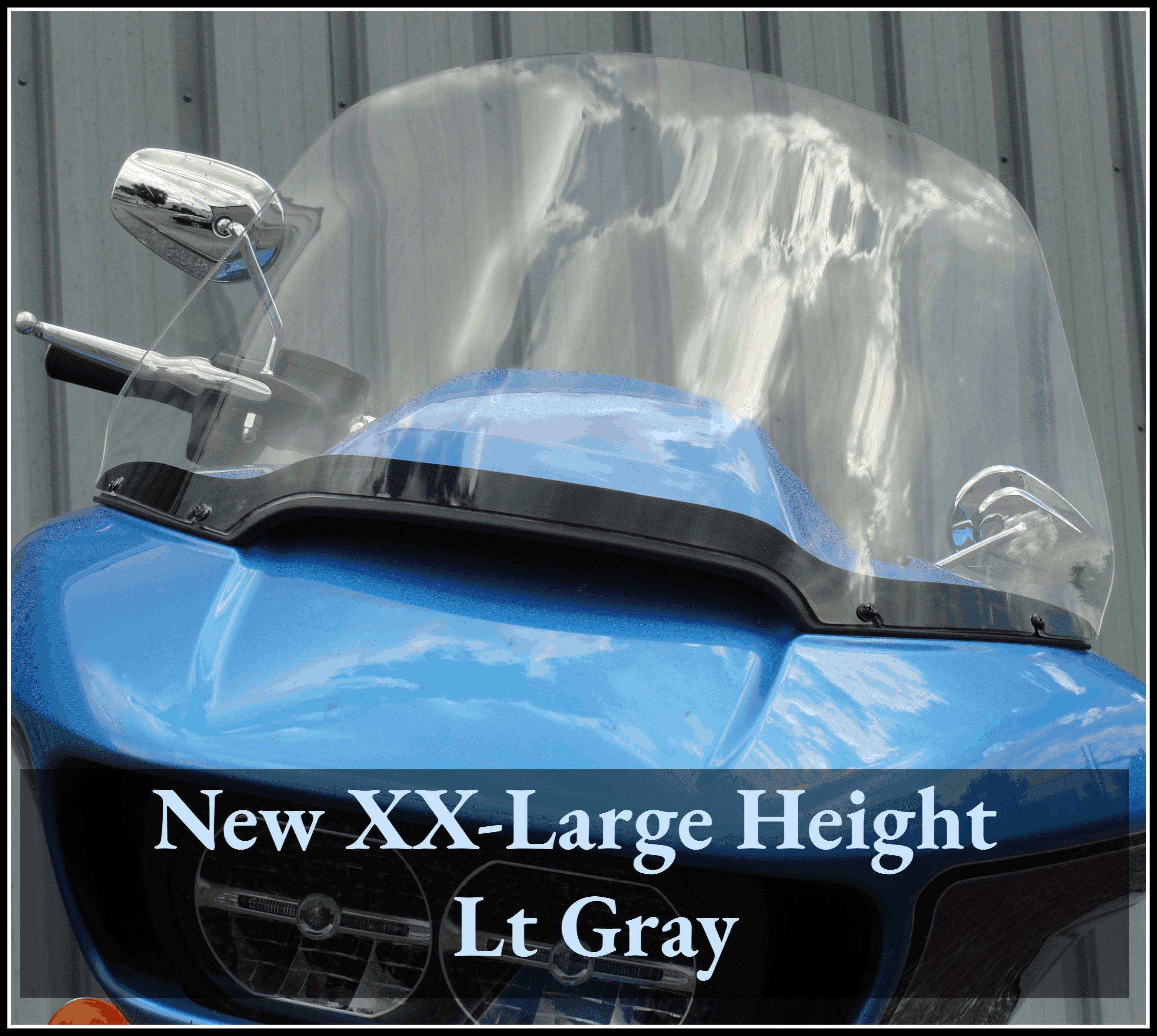 Harley Road Glide Windshield XX-Large (2)