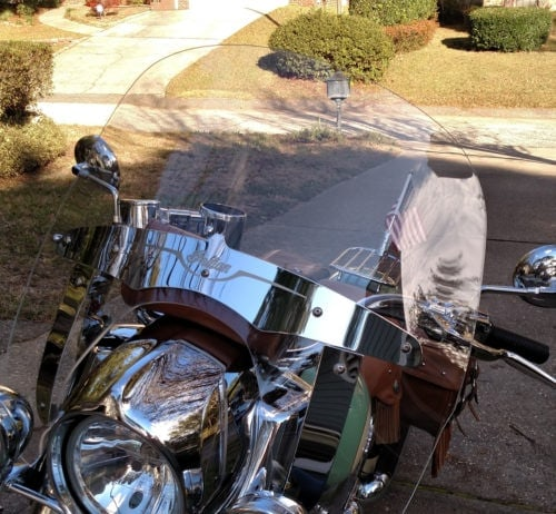 Indian Chief Vintage Replacement Windshield 2014-Present photo review