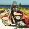 Indian Chief Vintage Windshield Lt Grey Recurve