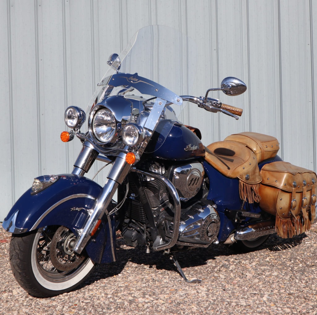 Indian Vintage Windshield Daily Commuter