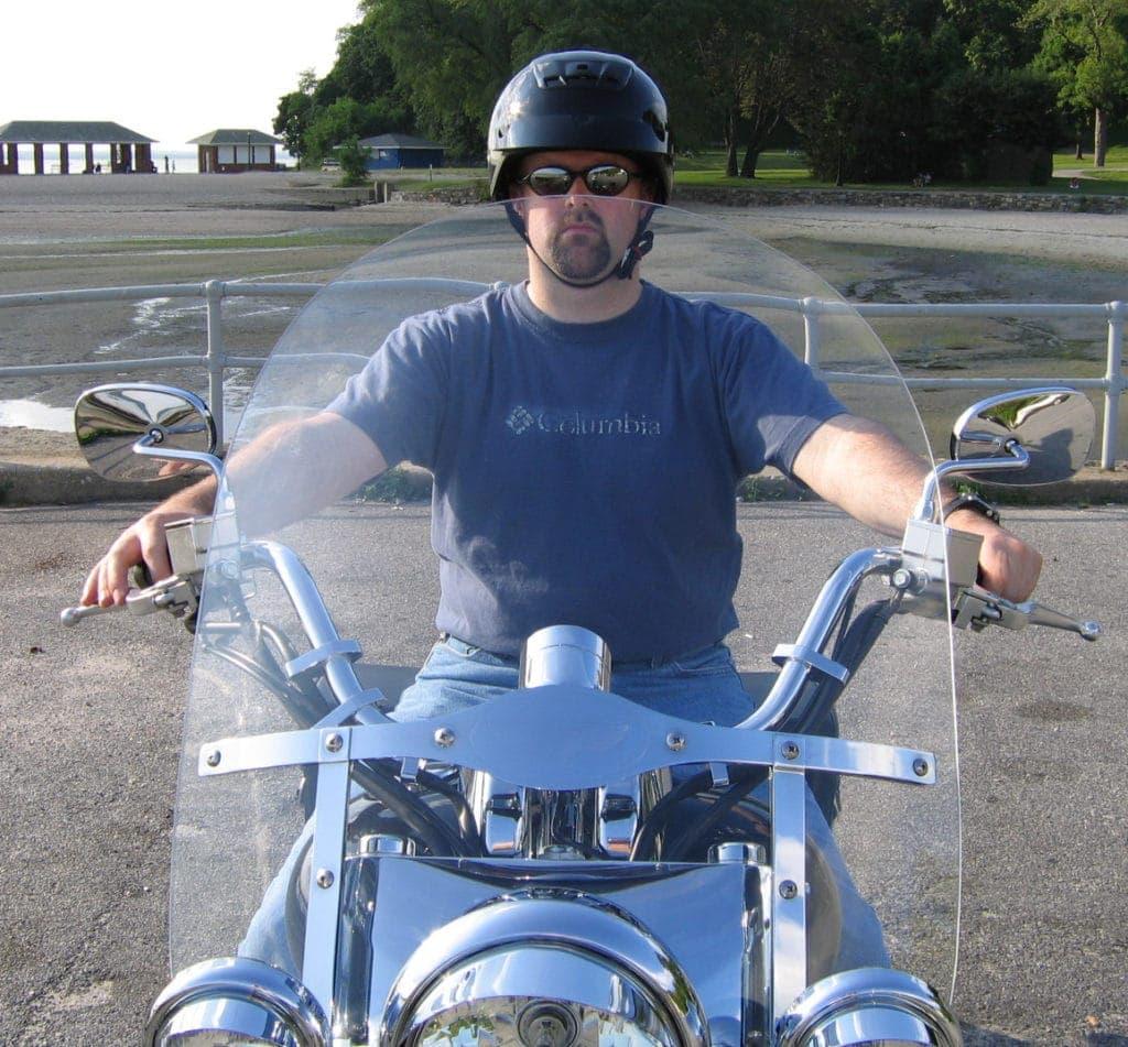 Kawasaki Vulcan 1600 windshield