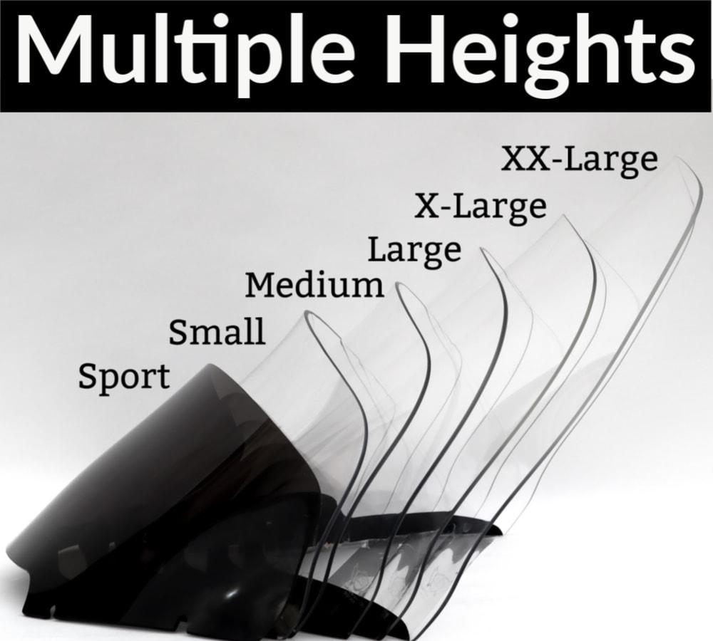 Harley Davidson Road Glide Windshield sizes 2
