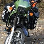 Kawasaki KLR 650 windshield 14
