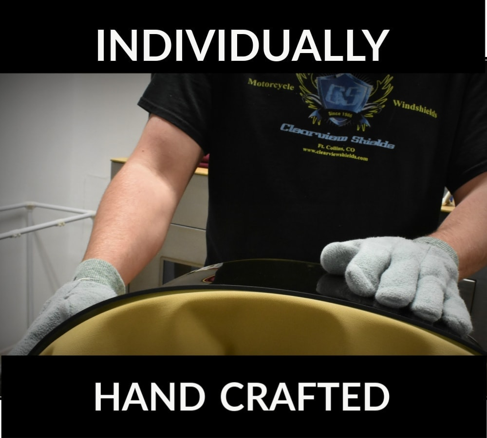 MOTORCYCLE WINDSHIELD Handcrafted Forming BLOG 1 1