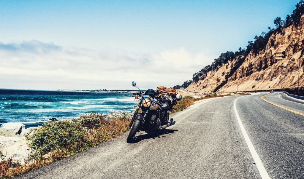 motorcycle road trip in california
