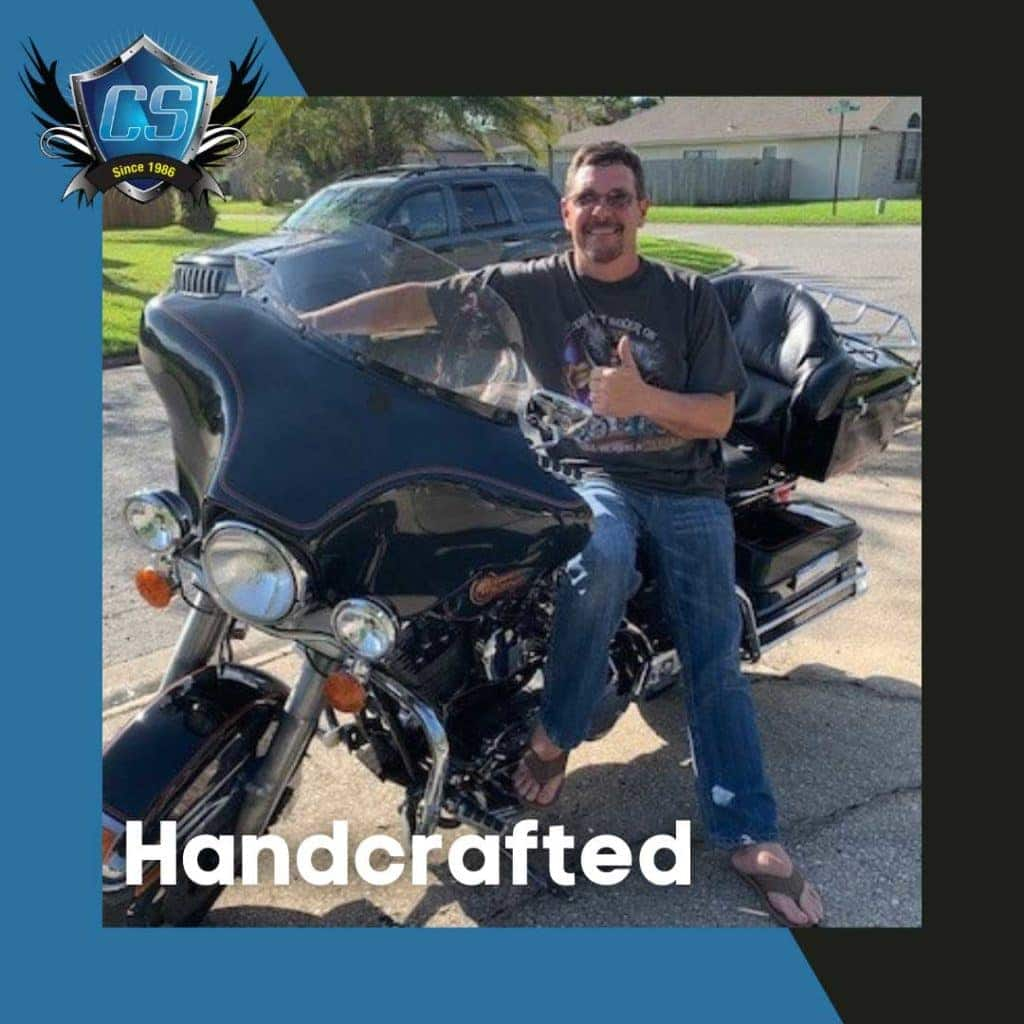 custom motorcycle windshields