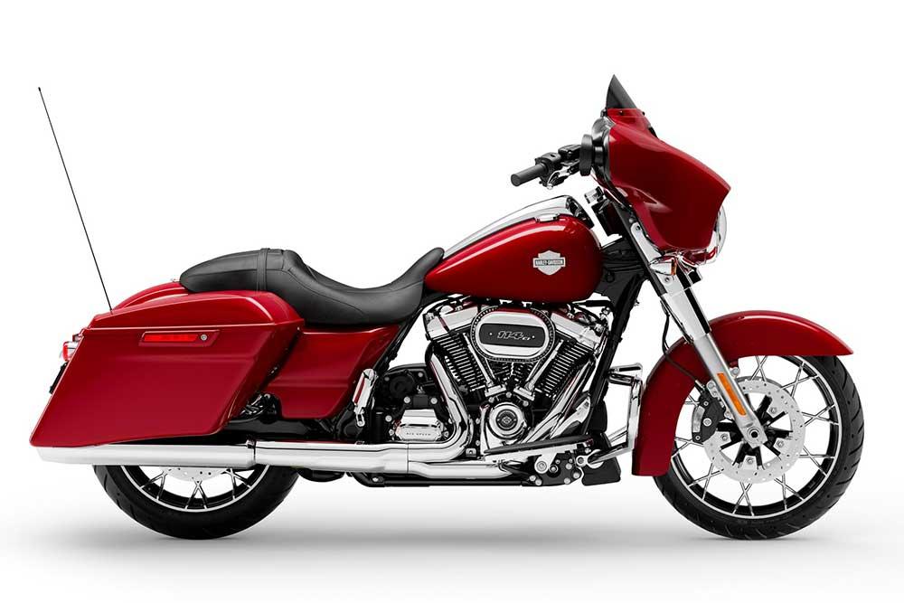 2021 Harley Davidson Street Glide windshield