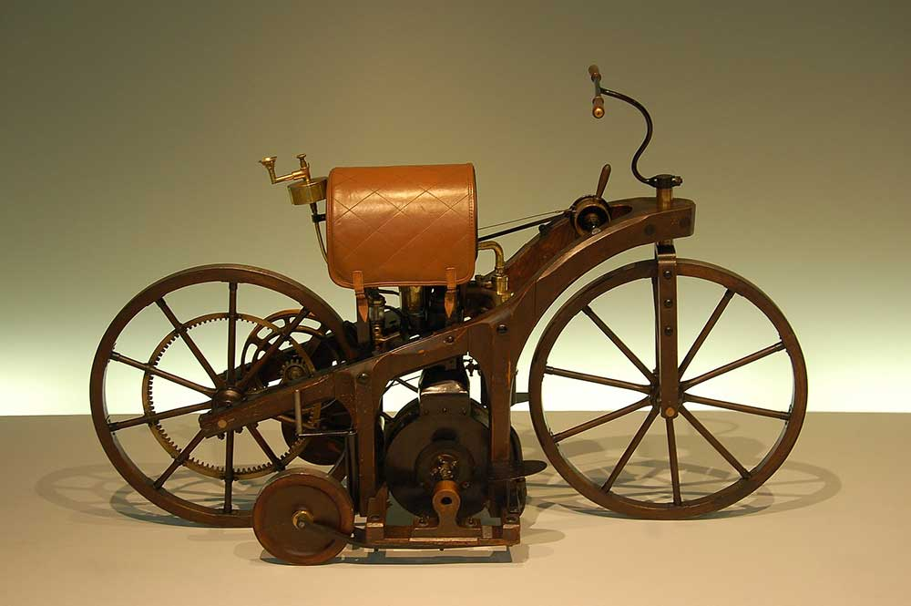 one of the first motorcycles invented