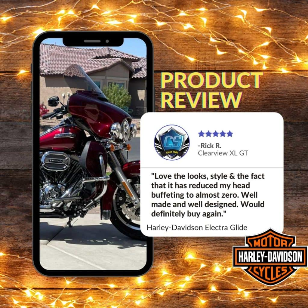 electra glide windshield review