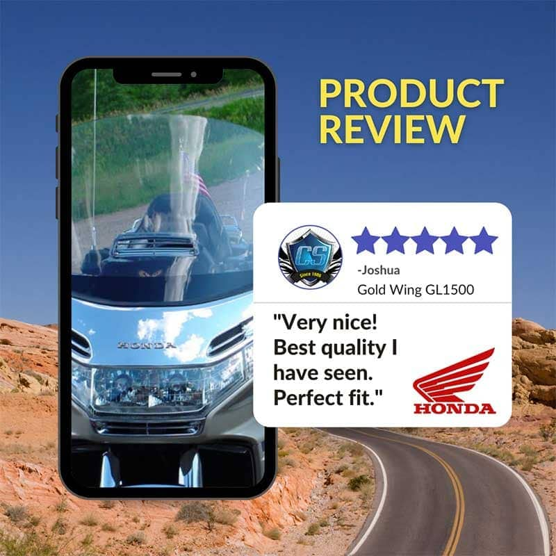 Gold Wing gl1500 Windshield Review