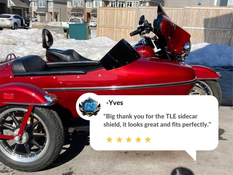 sidecar motorcycle windshield review