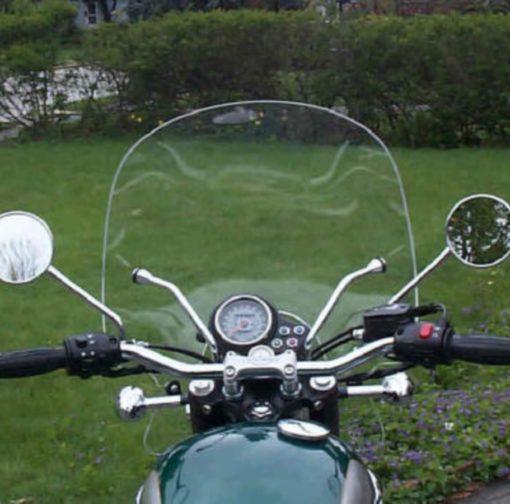 Triumph T100 Summer Windshield 1